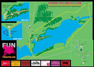 Kenmare Fun Tri Map