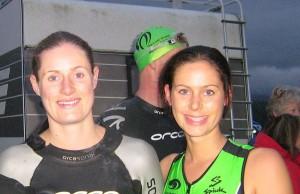 Lisa & Ellen - Triathlong Winner!